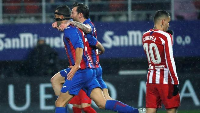 Un sólido Eibar logra la victoria ante un Atlético atascado