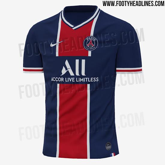 Camiseta Paris Saint-Germain Primera 2020 2021