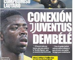 La Juventus tiene la intención de alquilar Dembele