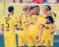 Dortmund empató la historia más alta del equipo