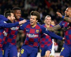 Barcelona y cinco jugadores eliminados de la Champions League son designados como Coman